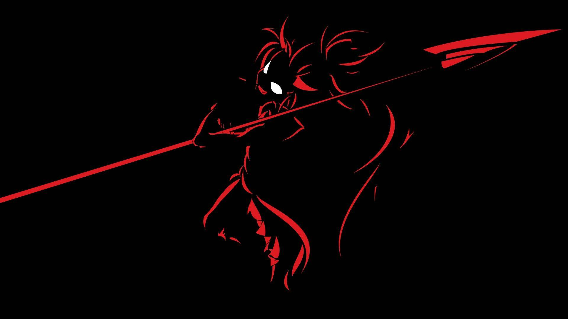 40 Black And Red Anime Desktop Wallpaper Download Free