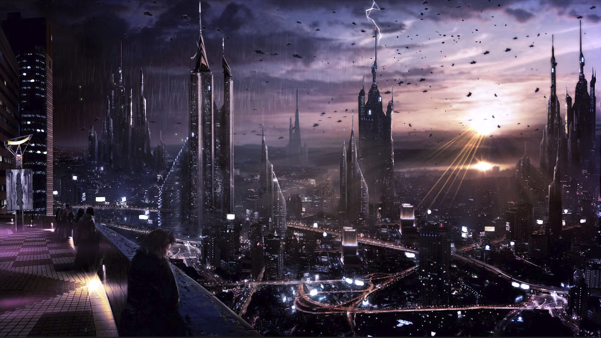 Pictures of the future city