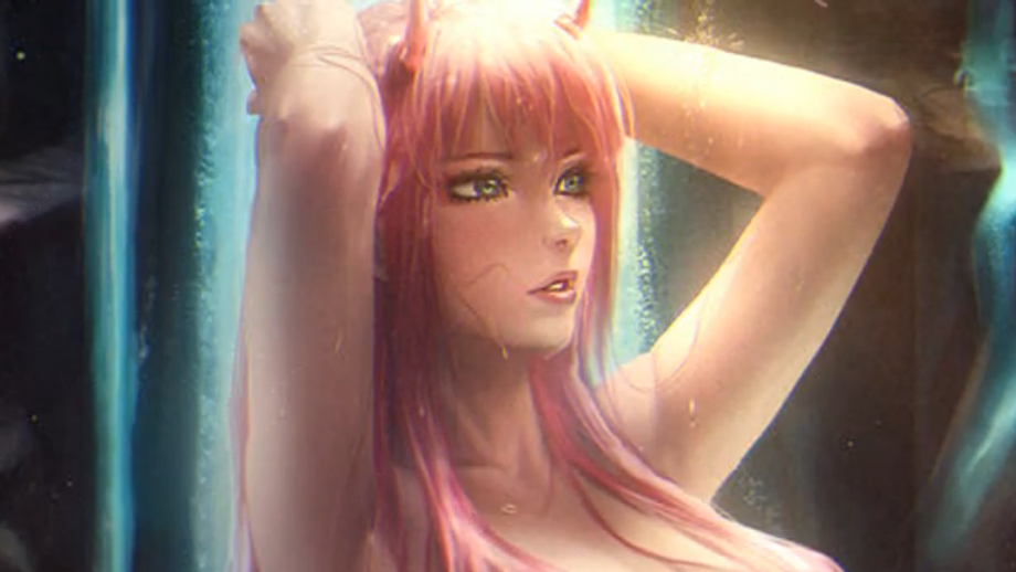 002 In The Waterfall Anime Live Wallpaper Download Free