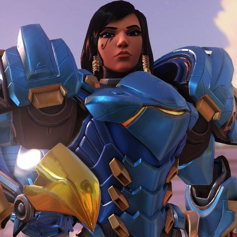 Pharah Overwatch Gnade X Mercy x