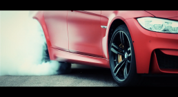 BMW M Drifting, M6 and M3 Red #2