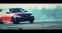 BMW M Drifting, M6 and M3 Red #1