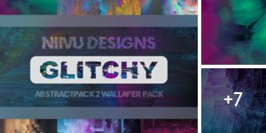 Glitchy Abstractpack