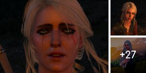 Cirilla from the Witcher